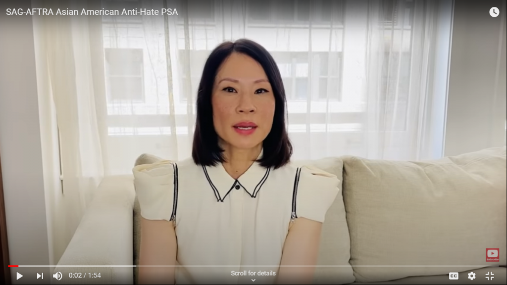 YouTube Video: SAG-AFTRA Asian American Anti-Hate PSA
